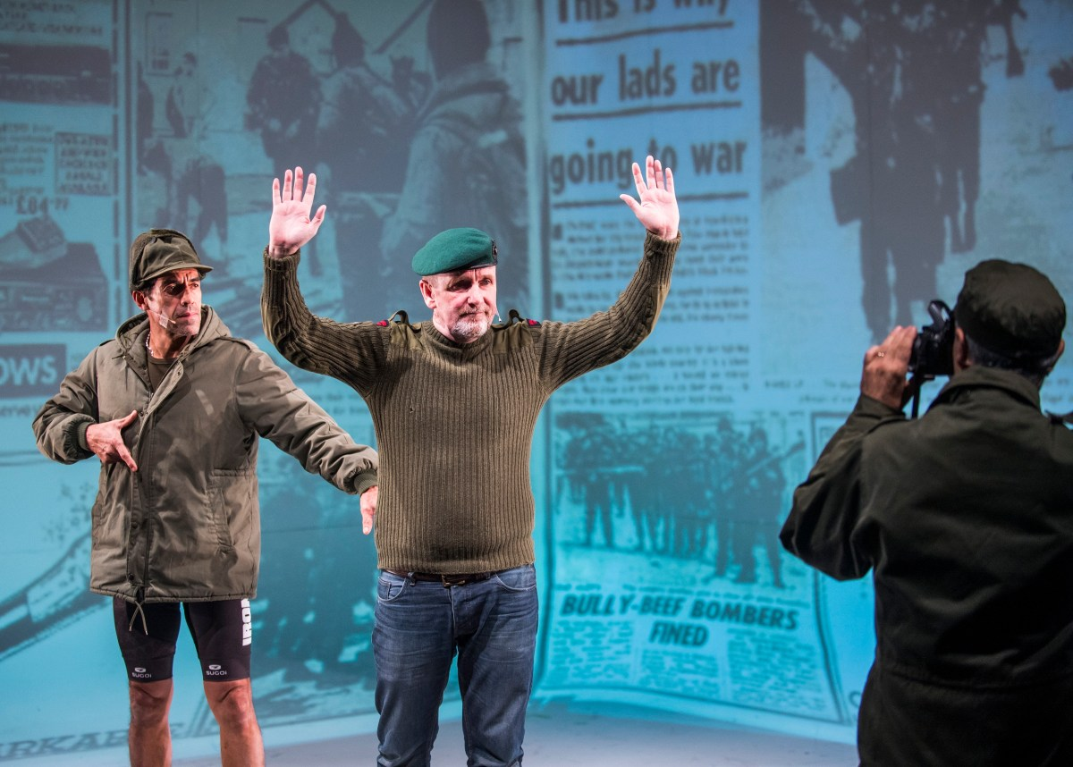 Minefield Review: Actual Enemy Combatants Meet and Make Theater